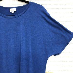 LuLaRoe Dresses - LuLaRoe Maria Dress Solid Royal Blue